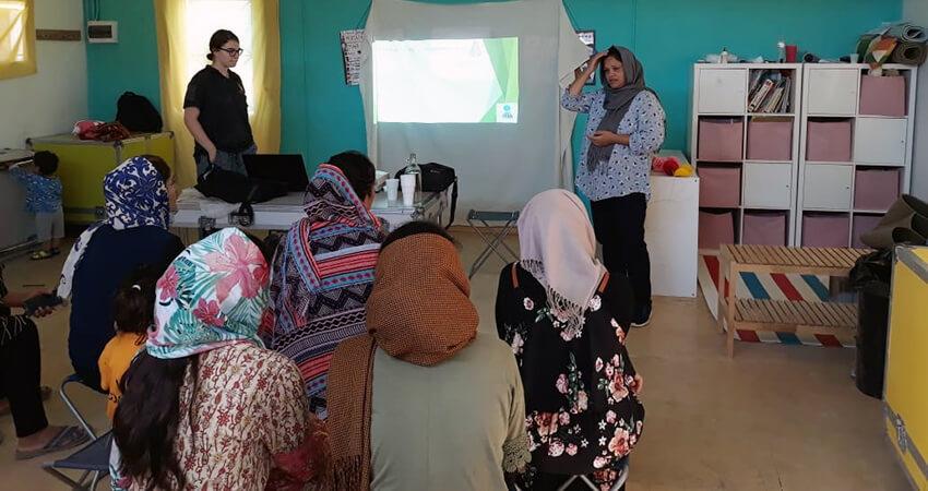 Κυρίες μετανάστριες εκπαιδεύονται - Οργάνωση CHEERing | YouBeHero
