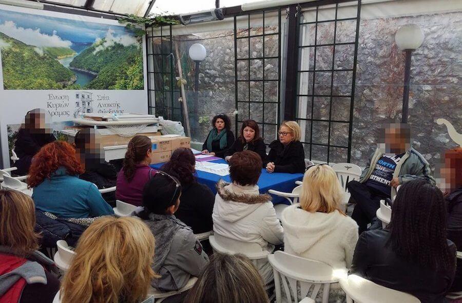 Ένωση Κυριών Δράμας - Σπίτι Ανοιχτής Φιλοξενίας_dlu.gr Πρόγραμμα Μέριμνα για την Τρίτη Ηλικία, συνάντηση  και ενημέρωση, αγορά τροφίμων και ειδών πρώτης ανάγκης | YouBeHero