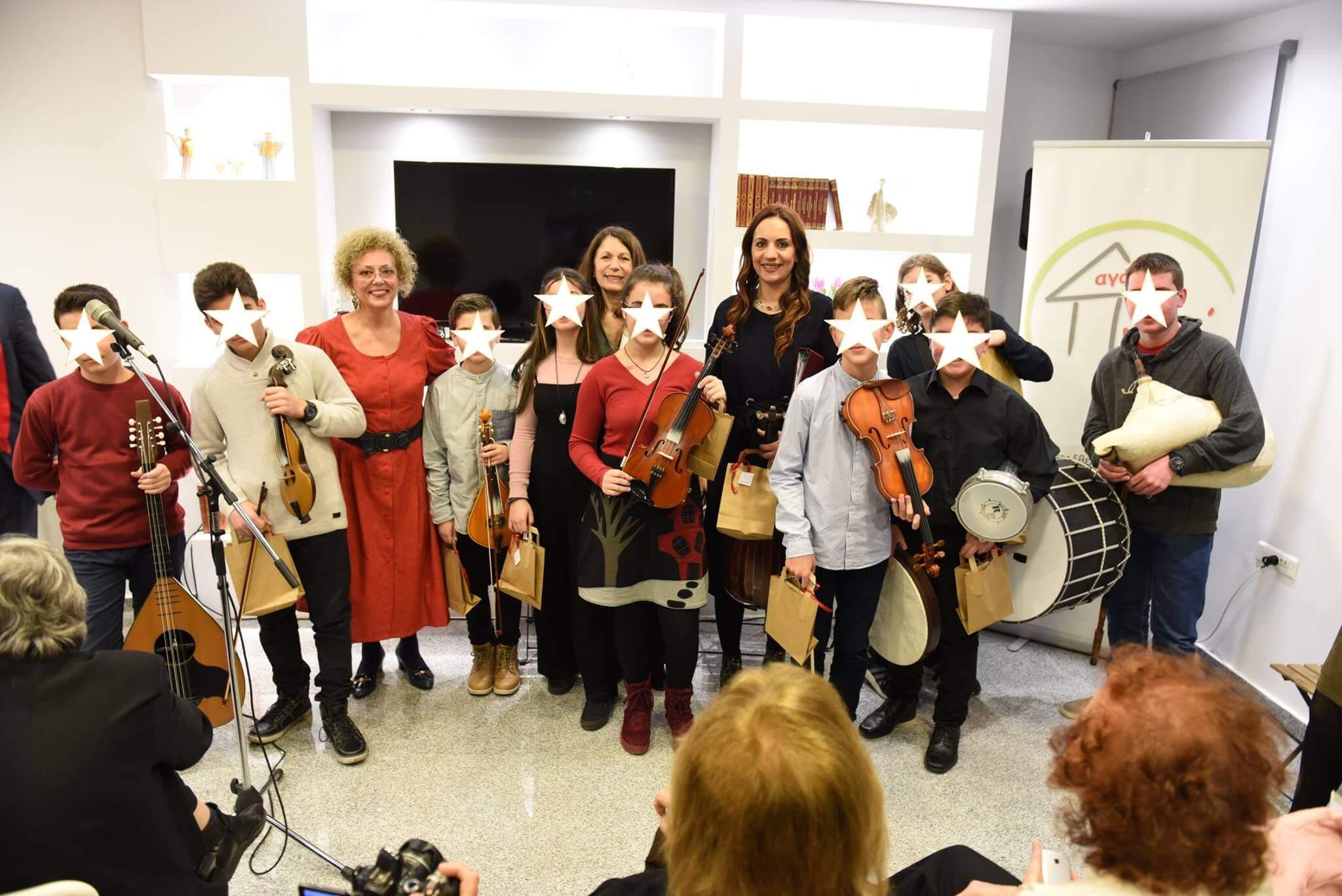 Πνοή Αγάπης μουσική παιδιά μουσικά όργανα βραδιά Pnoiagapis | YouBeHero
