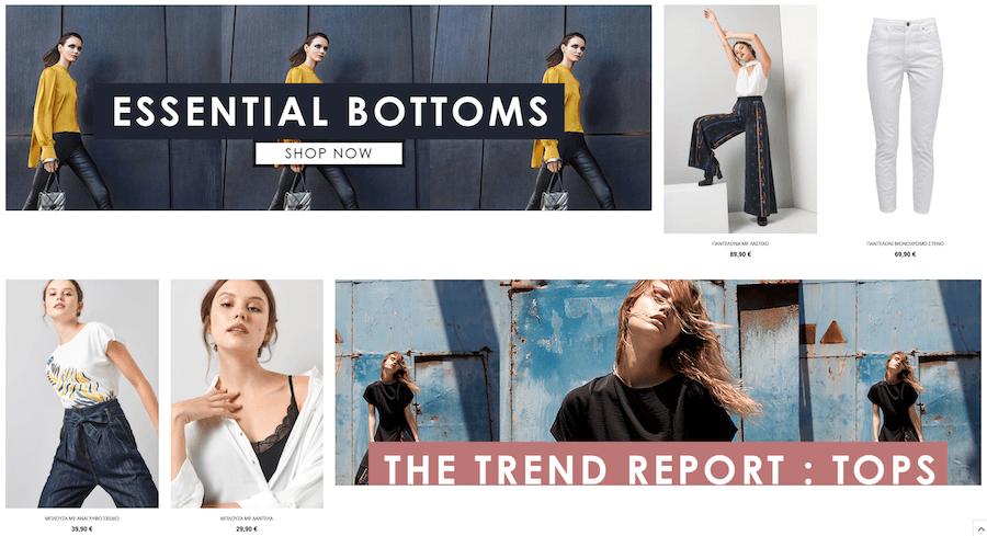 Στο ale.com.gr the non ususual casual θα βρείς παντελόνια με λάστιχο, λινό, μπλούζα με ανάγλυφο, μπλούζα με δαντέλα   YouBeHero