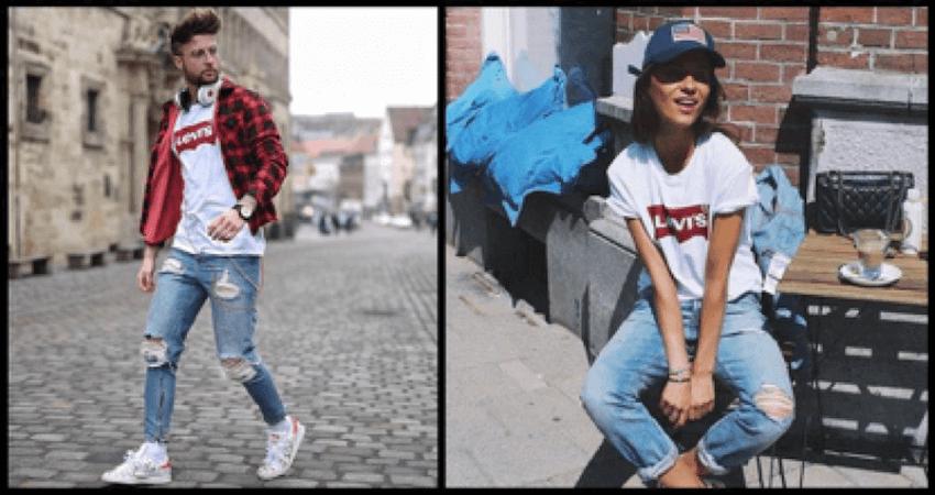 Στο altershops.gr θα βρεις επώνυμα ανδρικά και γυναικεία levis jeans και t-shirt | YouBeHero