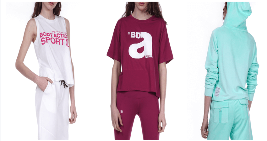 bodyaction.gr γυνεκεία φούτερ, φόρμες, φανέλες | YouBeHero