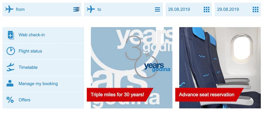 croatiaairlines.com βρές πτήση, web checkin, πληροφορίες πτήσεων, χρονοδιάγραμμα πτήσεων,  προσφορές   YouBeHero