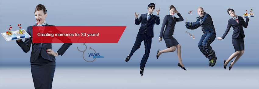 croatiaairlines.com αεροσυνοδοί γιορτάζουν 30 χρόνια Κροατία   YouBeHero
