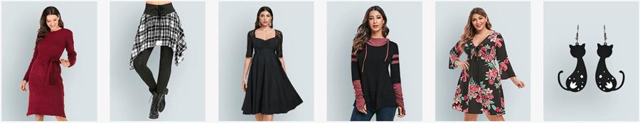 Στο dresslily.com θα βρεις plus size maxi φορέματα , plus size τζιν, plus size μπούζες , plus size μαγιό, plus size καφτάνια, plus size underwear, plus size tankini sets | YouBeHero