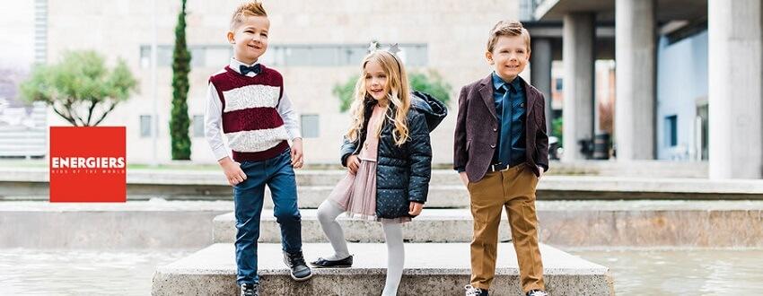 energiers επιλεγμένα ρούχα για παιδιά με ιδιαίτερα χρώματα και σχέδια για trendy εμφανίσεις | YouBeHero