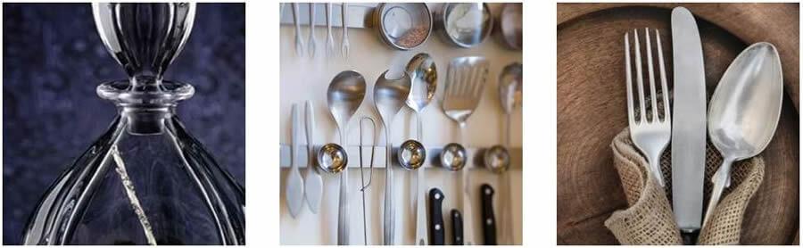 Στο esmarket.gr θα βρείς είδη κουζίνα, ποτήρια, μαχαίρια, πιρούνια, κουτάλια   YouBeHero