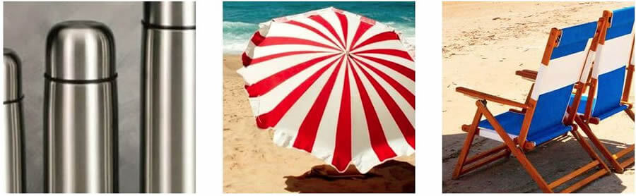 Στο esmarket.gr θα βρείς εποχιακά είδη όπως ομπρέλες και καρέκλες για την παραλία και Θέρμος    YouBeHero