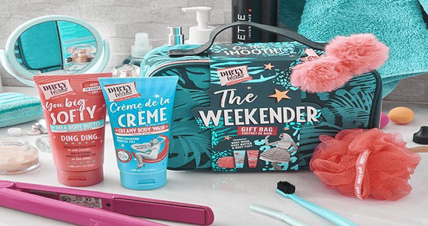 fashionroom.gr αξεσουάρ, weekender gift bag dirty works | YouBeHero