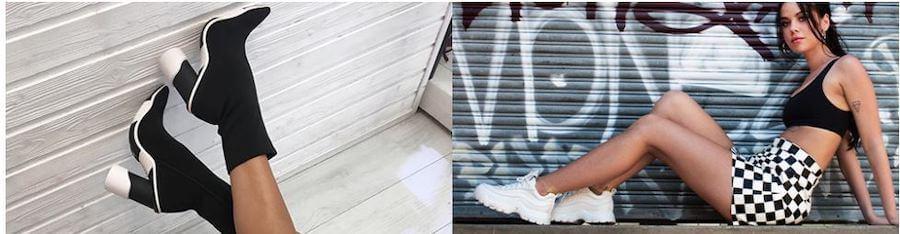 Στο favela.gr θα βρεις γυναικεία αθλητικά παπούτσια, τακούνια , κορμάκια, μπουστάκι και φούστες καρό  | YouBeHero