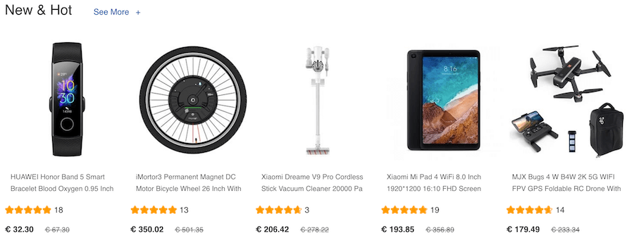 Στο geekbuying.com θα βρεις προσφορές huawei honor band, motor bicycle wheel, xiomi cordless vacum cleaner, xiaomi mi pad, gps drone