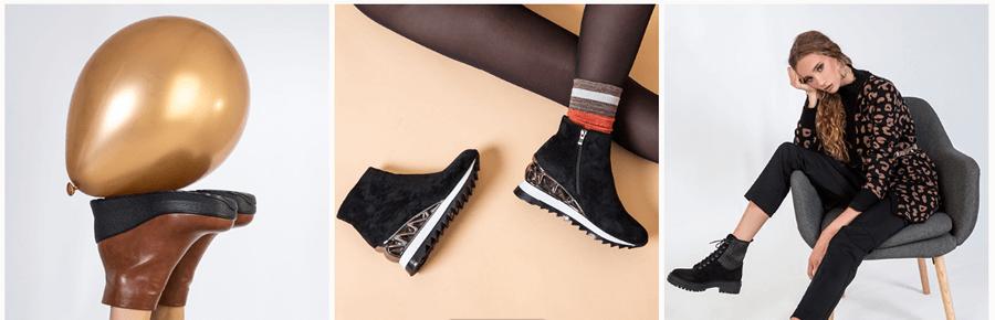 Στο keepfred.gr θα βρεις γυναικεία χειμερινά παπούτσια, μποτάκια καφέ μαύρα, cowboy boots, party collection | YouBeHero