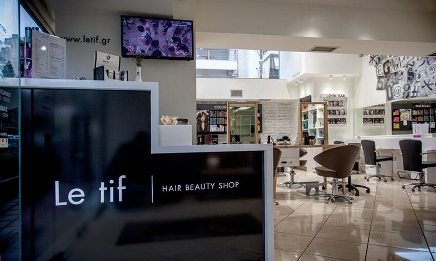 Στο Letif Hair Beauty Shop στην kalamaria θα βρείς επαγγελματικά προιόντα περιποίησης μαλλιών και νυχιών. | YouBeHero
