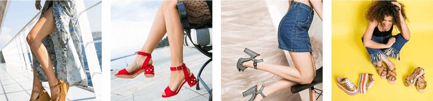 Πανέμορφα γυναικεία παπούτσια σε ζωηρά χρώματα απο το olympicstores.gr | YouBeHero
