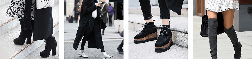 Χειμερινές μπότες, μποτάκια σε μάυρο χρώμα σε πολύ όμορφα σχέδια απο τα olympic stores | YouBeHero