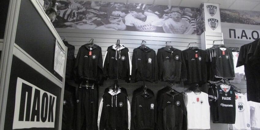 Στο store.paokfc.gr θα βρεις επίσημες εμφανίσεις του ΠΑΟΚ και αξεσουάρ όπως γάντια, καπέλα, κασκόλ, σημαίες και gadgets | YouBeHero