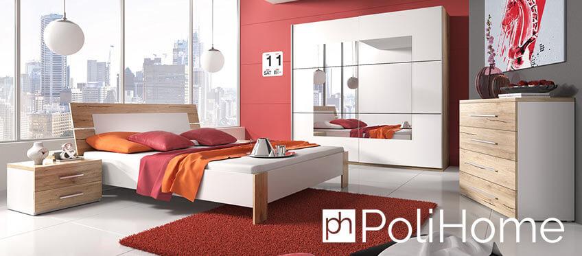 Κρεβάτι και ντουλάπες ντυμένα σε κόκκινο χρώμα απο το polihome! | YouBeHero