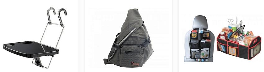 Στο saveltrade.gr θα βρεις τραπεζάκι αυτοκινήτου, τσάντα για και θήκες που εφαρμόζουν στο κάθησμα του αυτοκινήτου   YouBeHero