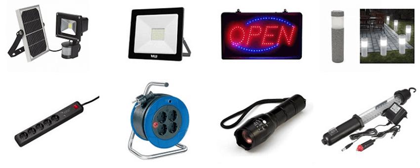 Στο snatch.gr θα βρεις προβολείς led, πινακίδες καταστήματος open, φώτα led κήπου, πολύπριζα, μπαλαντέζα, φακοί  | YouBeHero