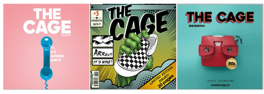 ηλεκτρονικό περιοδικό the cage issue στο sneakerscage.gr | YouBeHero
