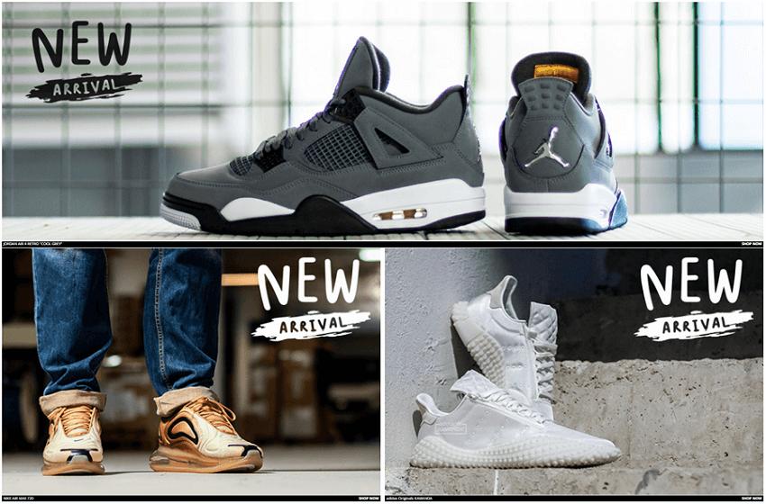 Στο sneakercage.gr θα βρεις προσφορές και νέες αφίξεις σε αθλητικά παπούτσια, τζιν, sneakers | YouBeHero