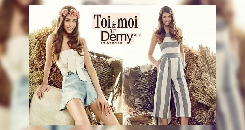 Το Τοι μοι και η demy σε συνεργασία για σχεδιασμό ρούχων! | YouBeHero