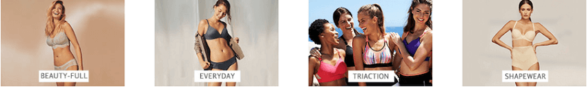 Triumph ιδιαίτερες σειρές εσωρούχων, μαγιό, home wear Triumph, Miss Triumph, Mamabel, Triaction, Triumph Essence, Sloggi | YouBeHero