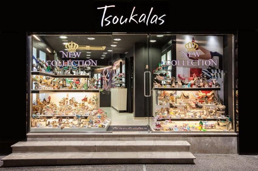 Στο κατάστημα του Tsoukalas Shoes παρουσιάζονται παπούτσια κάθε είδους | YouBeHero