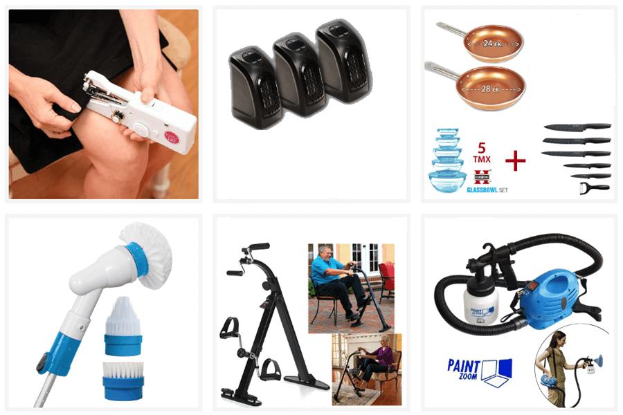 Στο tv-shop.gr θα βρεις ραπτομηχανή fast sew, αερόθερμο δωματίου, μπολ και μαχαίρια, κατσαρόλες, επαναφορτιζόμενη βούρτσα, στατικό ποδήλατο για ηλικιωμένους, σύστημα βαψίματος με ψεκασμό  | YouBeHero