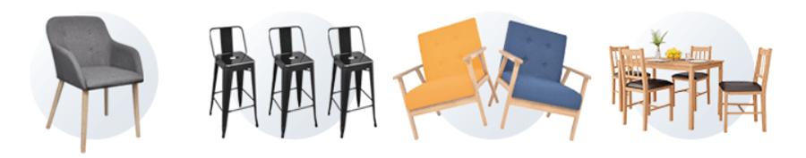 Στο vidaXL θα βρεις καρέκλες γραφείου, καρέκλες κουζίνας και μπαρ, καρέκλες τραπεζαρίας.   | YouBeHero