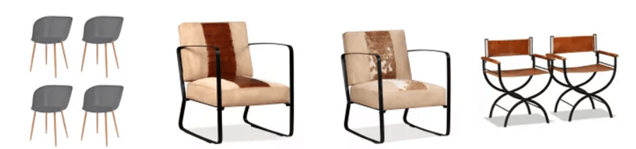 Στο vidaXL θα βρεις καρέκλες αναπαυτικές, καρέκλες σκηνοθέτη, παραλίας και μοντέρνες καρέκλες   | YouBeHero